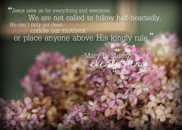 Everything- Mary DeMuth