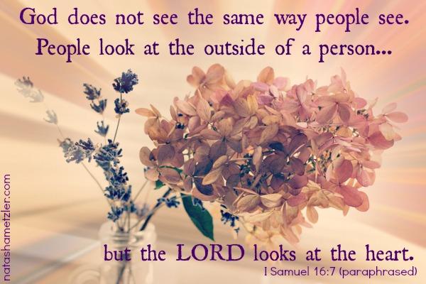 I Samuel 16:7
