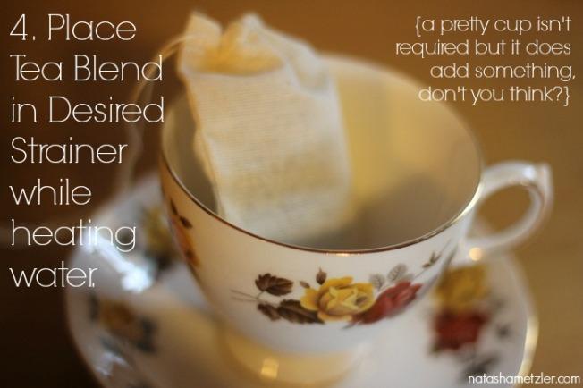 Backyard Herbal Tea