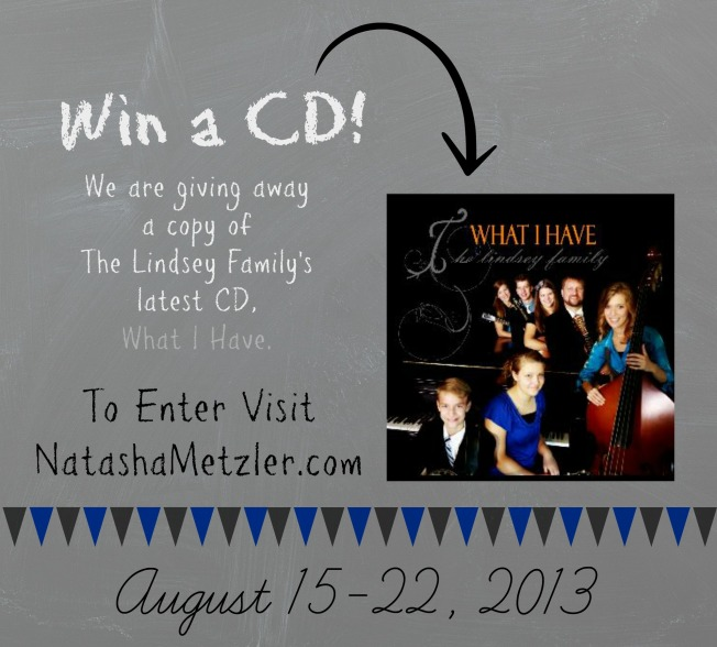 Lindsey Family CD GIveaway