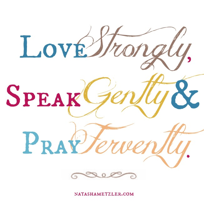 love strongly