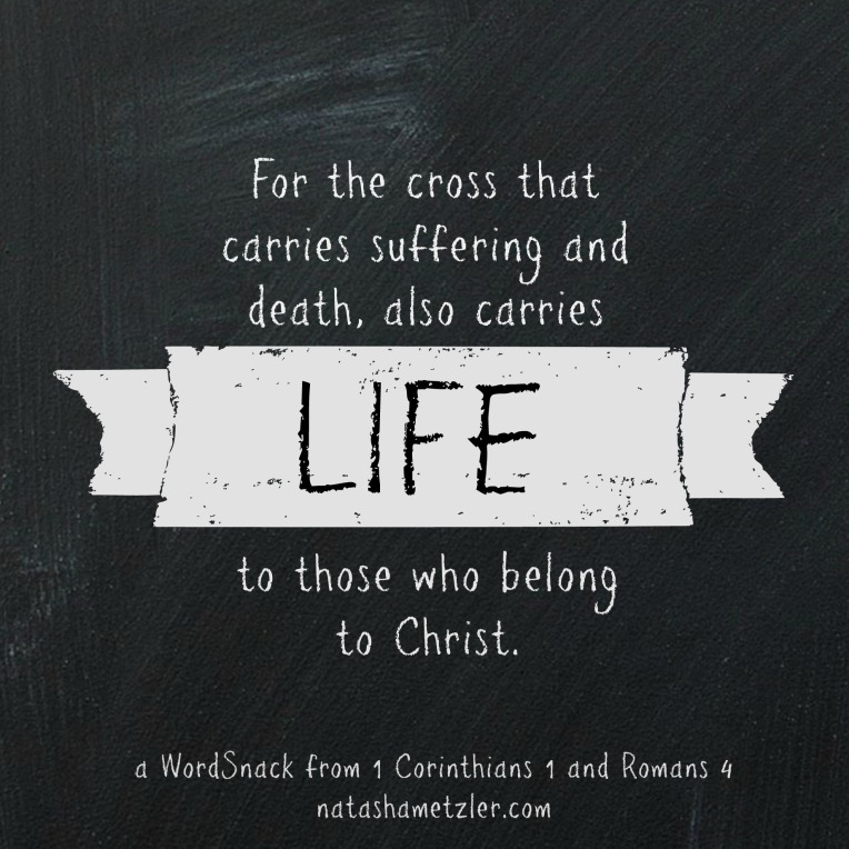 I Corinthians 1 and Romans 4