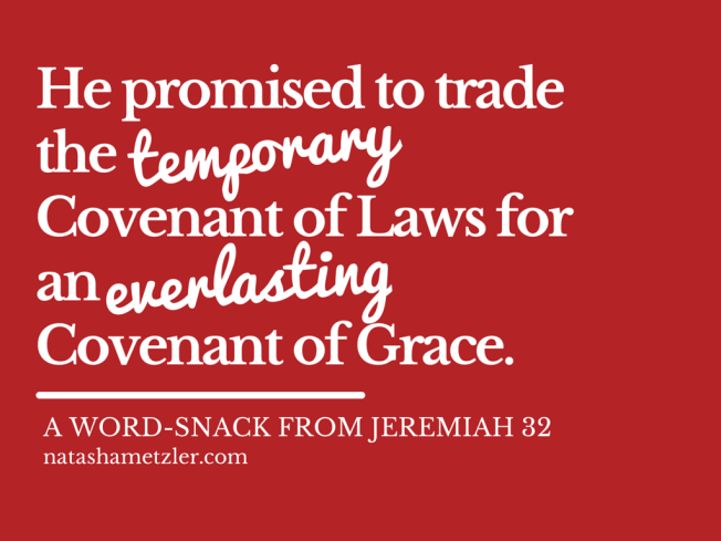 Word-Snack: Jeremiah 32