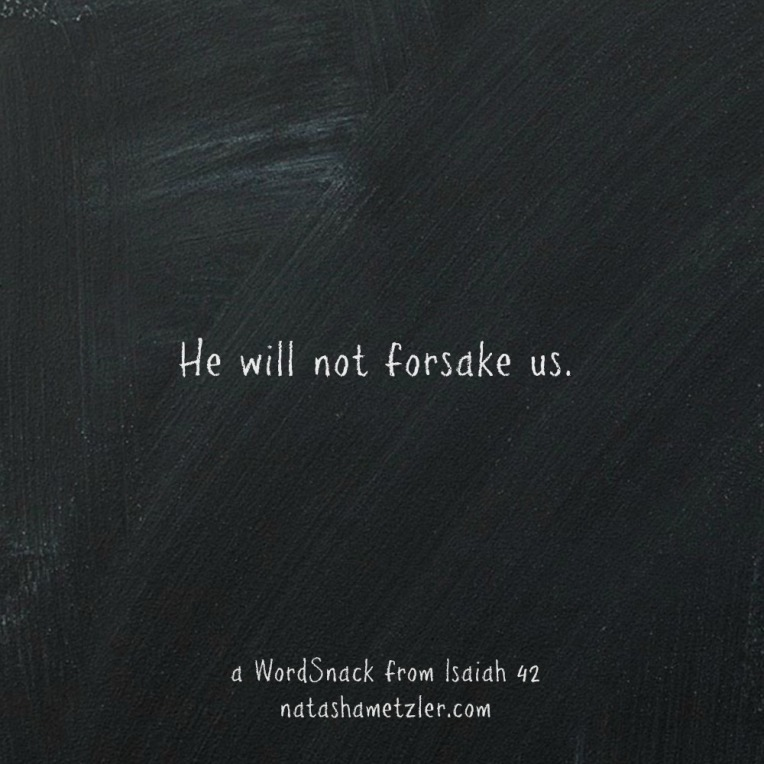 a WordSnack from Isaiah 42